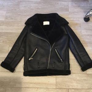 Zara women Sherpa winter jacket